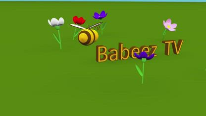 Shapes for kids toddlers children babies infants. Learn 2d shapes with a little bee -- part 2