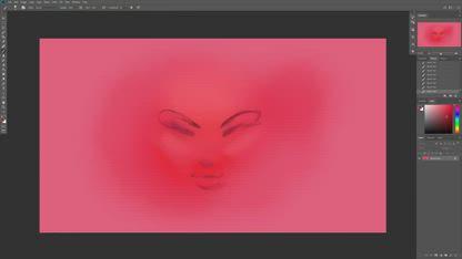 Speedpaint - Painting an Alien Woman in Photoshop