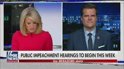 Gaetz dismisses House Dems' bribery charge against Trump