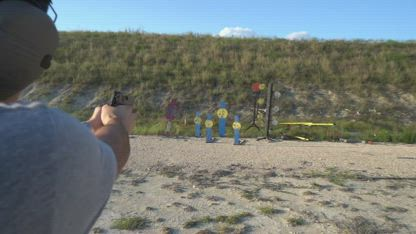 How to Shoot a Pistol Accurately