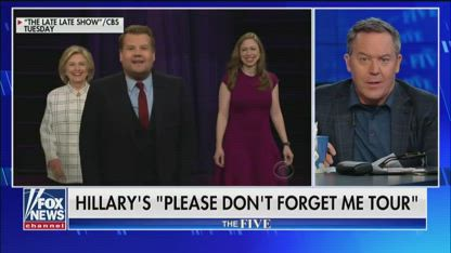 Gutfeld on Hillary's late night comedy routine