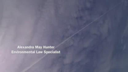 Alexandra May Hunter – Senior EPA Official Admits USAF Involved in Aerosol Spraying Program