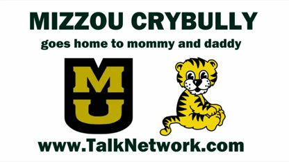 Mizzou crybully goes home to mommy and daddy