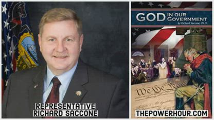 Rep. Rick Saccone discusses God in Our Govenerment on The Power Hour with Daniel Brigman