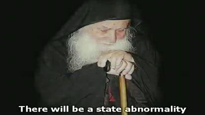 Prophecy of the Greek Orthodox Elder Joseph