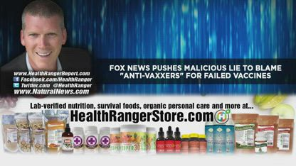 "Fox News pushes malicious LIE to blame ""anti-vaxxers"" for vaccine FAILURES"