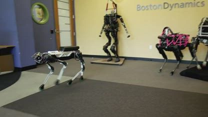 The robots are coming! Amazing new semi-autonomous 'dogs'!