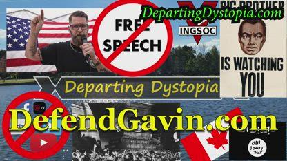 DefendGavin.com and Defend Free Speech | Departing Dystopia