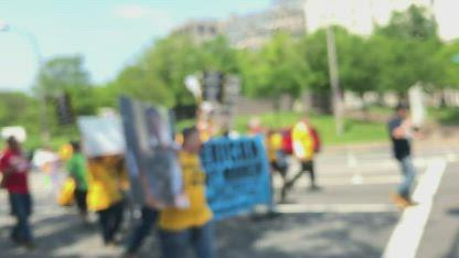 Parents March on Washington D.C.  5-3-19