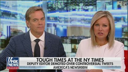New York Times deputy editor demoted over controversial tweets