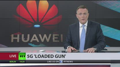 'Loaded gun' US cyber officials warn UK over Huawei 5G network