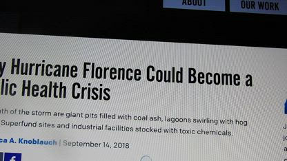 HEADZ UP HEALTH: FLORENCE MAY BECOME A HEALTH CRISIS, ISN'T THAT WHAT THEY WANTED!! HD