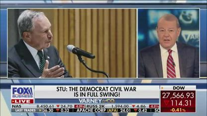 Varney: Dems are outraged over a billionaire entering 2020 race