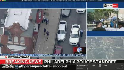Police Standoff in Philadelphia After Shooting
