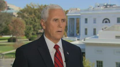Pence: I don't object to releasing my call transcripts with Zelensky