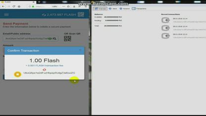 Flashcoin Transaction