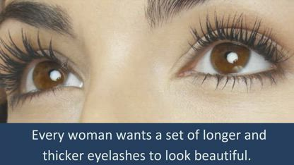 How To Get Thicker and Longer Eyelashes Fast and Naturally