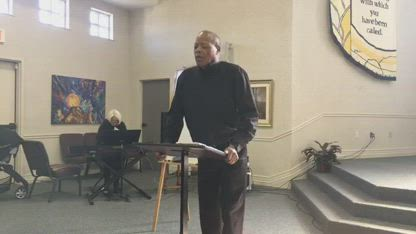 Pastor Stephen Broden Preaches on the Gifts of God and the Importance of FAITH