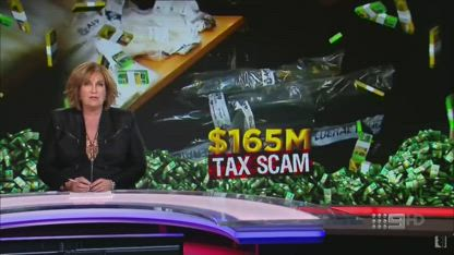 Australian Tax office $165 million scam ripping off the tax payer big time
