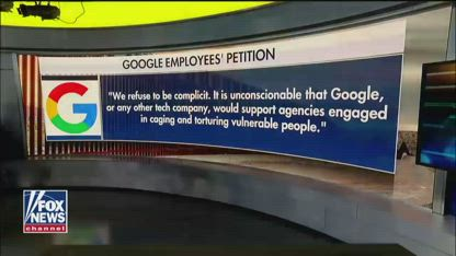 Google employees urge company to stop work with ICE, CBP
