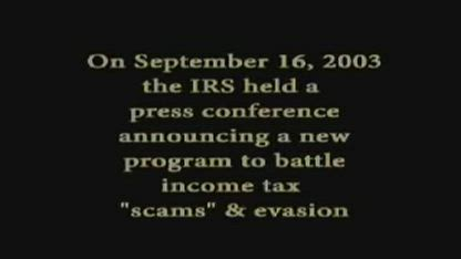 """IRS Commissioner Given Chance To Provide Law Requiring Payment of """"Taxes"""" And Chokes"""