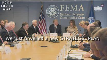 WHAT WERE Trump/Pence Signaling @ FEMA Meeting?!!