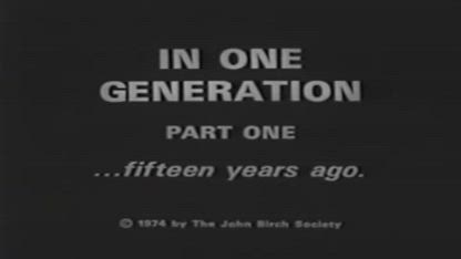 Robert Welch Speech (Greatest Speech in America, 1958)