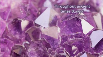 Crystals, reminder of healing powers