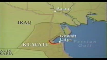 """""""Highway of Death"""" Iraqi Army Armed Retreat from Kuwait 1991"""
