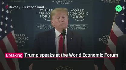 Trump on Greta Thunberg at Davos: 'She Beat Me Out on Time Magazine'