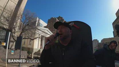 Alex Jones Epic Richmond Rally 1776 Worldwide Speech From Battle Tank: Waking Life 2.0