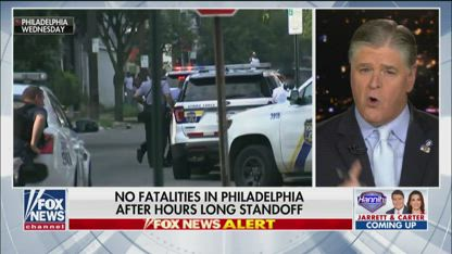 Hannity: Police get no thanks from the communities they protect