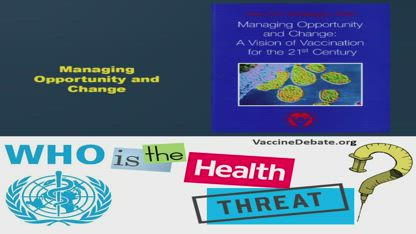 WHO is really the 2019 Health Threat