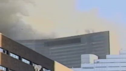 30 Second Reel of World Trade Center Building 7 Collapse Footage