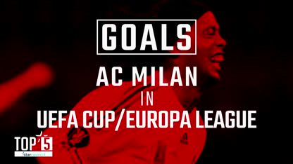 Our Top 5 Goals scored at San Siro in UEFA Cup / Europa League