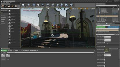 VR - Unreal Engine Heaven Sphere