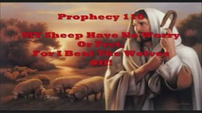My Sheep Have No Worry Or Fret, For I beat The Wolves Off! - Prophecy Amightywind