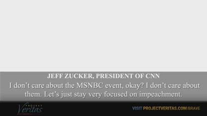 CNN Insider Blows Whistle on Network President Jeff Zucker's Personal Vendetta Against POTUS  Part 1