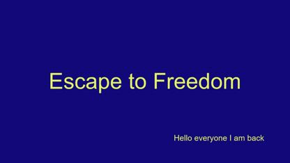Introduction from Sky @ Escape to Freedom  (real.video)