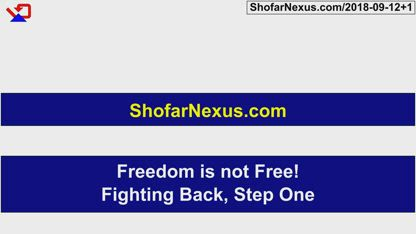 Freedom is not Free! Fighting Back, Step One