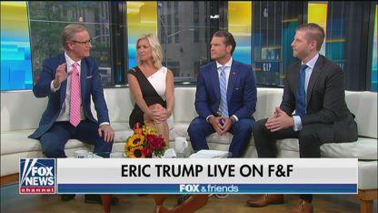 Eric Trump accuses media of ignoring Trump's popularity at Iowa State Fair