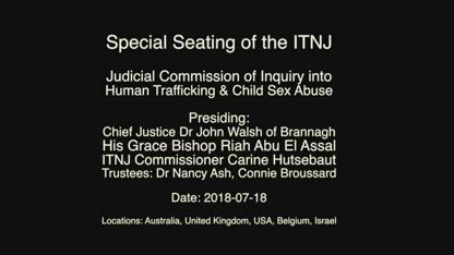 EYE OPENING ITNJ TESTIMONY FROM FIONA BARNETT, International Tribunal for Natural Justice, Published on Sep 7, 2018