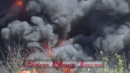 Salem, 2 Alarm House Fire on Breyman St. 5-7-19 SNJ NS WC