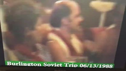 (Drunk and Shirtless) Bernie Sanders sings This Land is Your Land with Soviets 1988
