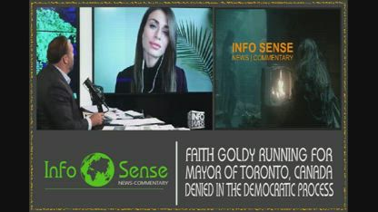 FAITH GOLDY RUNNING FOR TORONTO MAYOR DENIED DEMOCRATIC PROCESS BECAUSE SHE IS CONSERVATIVE