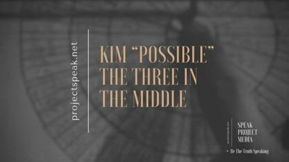 "The Three In The Middle (Godfather lll) by Kimberly A Goguen aka Kim ""Possible"""