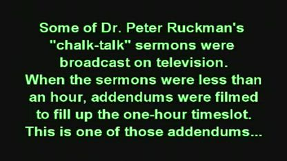 Dr. Peter Ruckman- Read the Authorized King James Bible
