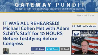 IT WAS ALL REHEARSED! Michael Cohen Met with Adam Schiff's Staff for 10 HOURS Before Testifying Before Congress