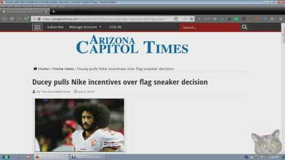 Doug Ducey pulls Nike incentives over flag sneaker decision