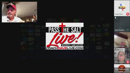 Pass the Salt Live - Get in the Game 10-4-2018
